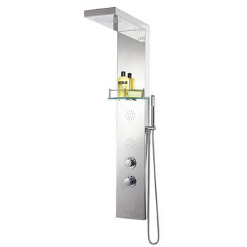 Sc003 Round Thermo Shower Column - 14170