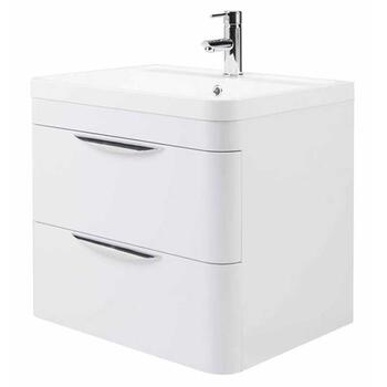 Parade 600 Wall Hung 2 Drawer Basin & Cabinet - 14173