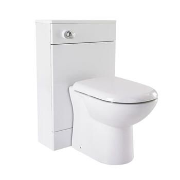 New Ecco 600 X 330 Back To Wall Toilet Unit Contemporary