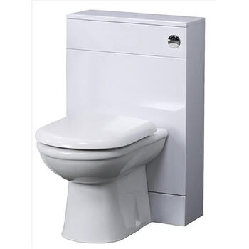 New Ecco 500  X 330 Back To Wall Toilet Bathroom Unit