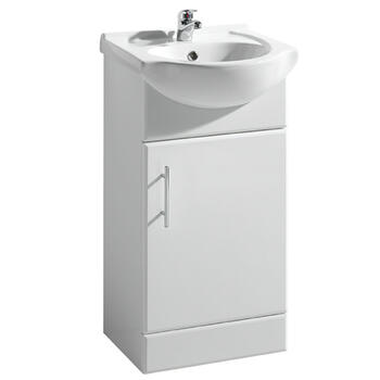 New Ecco 450 Basin Unit curved Unique Design Bathroom