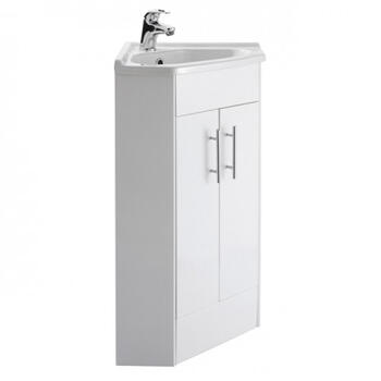 New Ecco Corner Unit And Basin - 14238