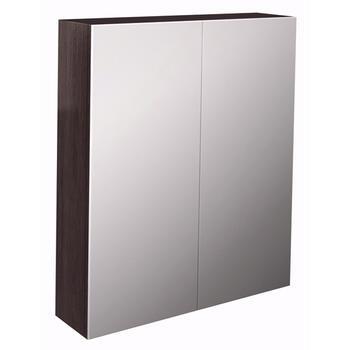 Echo 80cm Double Door Mirror Cabinet W80cm D16cm H70cm - 14350