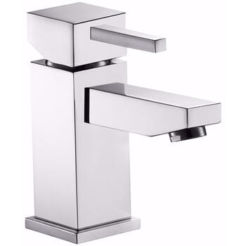 Traditional CHROME standard 3 Hole Basin Mixer Taps With a lever Handle