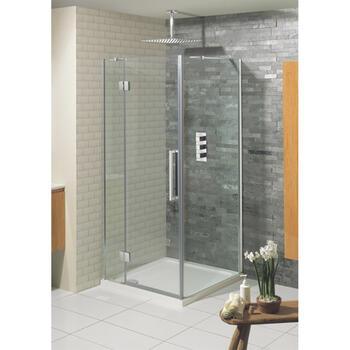 Bc tenpure Hinged Shower Door Stylish Bathroom