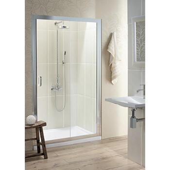 Bc Class Silver Slider Shower Door - 14666