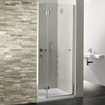Bc Dolan Silver Hinged Shower Door - 14668