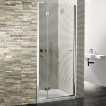 Bc Dolan Silver Hinged Shower Door - 14668