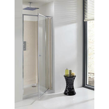 Bc Eboney Pivot Shower Door