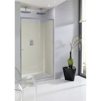 Bc Eboney Single Slider Shower Door Ellegant Bathroom