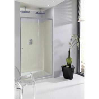 Bc Eboney Single Slider Shower Door - 14671