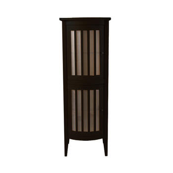 Linea Bow Fronted Tall Cabinet With 2 Doors RH - 14796