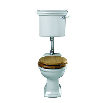 Firenze Low Level Cistern Lever With Pan including Seat Traditional  Contempory Toilet