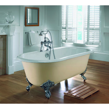 Bentley Double Ended Bath 2TH With Imperial Feet - 15210