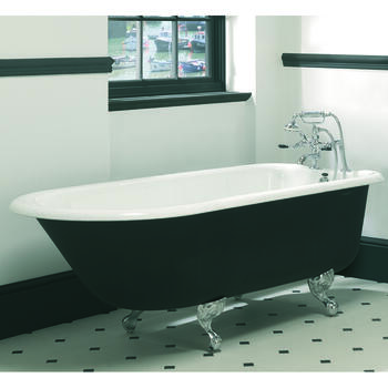 Waldorf Single Ended Bath 0TH With Ball And Claw Feet - 15217