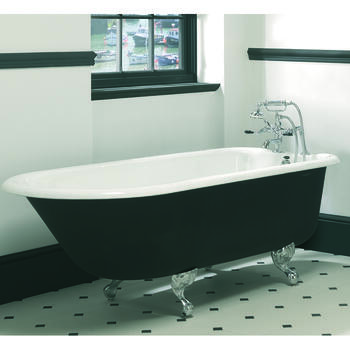 Waldorf Single Ended Bath 2TH With Ball And Claw Feet  Bathroom