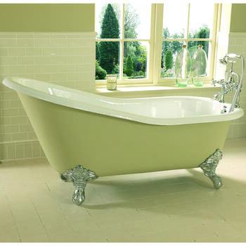 Ritz Slipper Bath 2TH 1700mm With Imperial Feet - 15226
