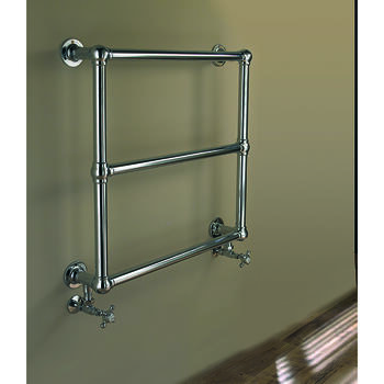 Lund 685 Wall Radiator 685X685 Contemporary Bathroom Flat Towel Rail