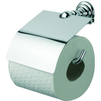 richmond wall mounted closed toilet roll holder designer