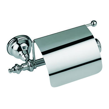 Avignon Wall Mounted Covered Toilet Roll Holder - 15481