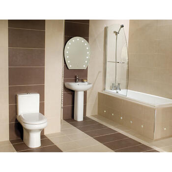 Compact complete Bathroom Suite - 15534
