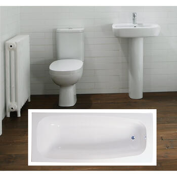Petit complete Bathroom Suite - 15535