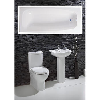 Luna complete Bathroom Suite - 15536