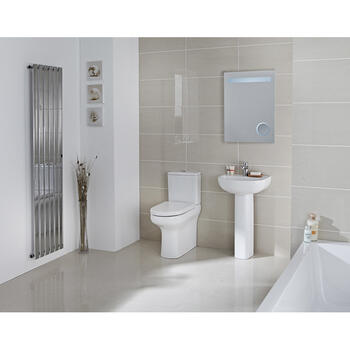 Compact Eco Rimless complete Bathroom Suite - 15539