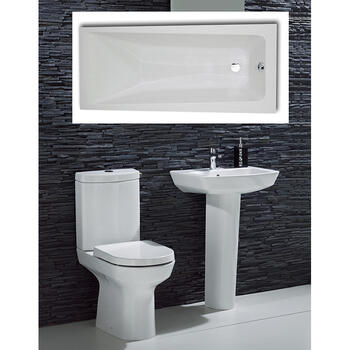 Chic complete Bathroom Suite - 15541
