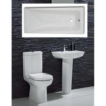 Chic complete Bathroom Suite - 15541