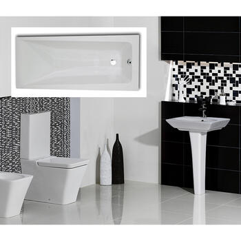 Opulence complete Bathroom Suite - 15550