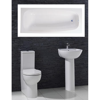 Garda complete Bathroom Suite - 15551
