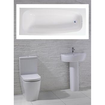 Emme complete Bathroom Suite - 15552