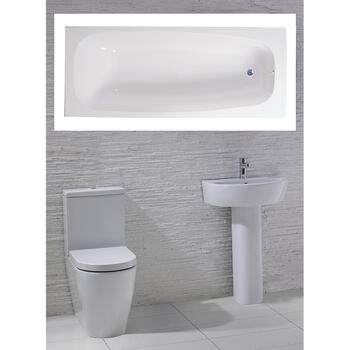 Emme complete Bathroom Suite - 15552
