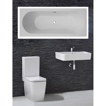 Trac complete Bathroom Suite - 15555