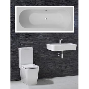 Trac complete Bathroom Suite - 15555