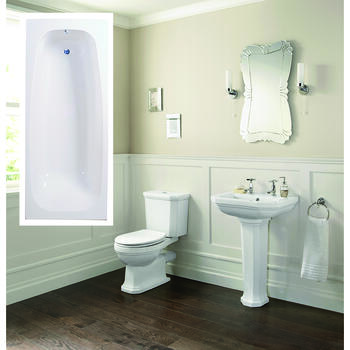 Clarence complete Bathroom Suite Modern