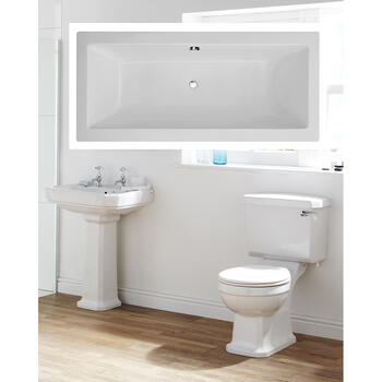 Hamilton complete Bathroom Suite - 15560