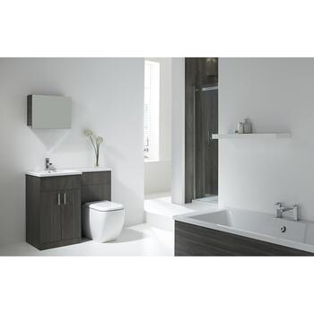 AquaTrend petit Metro Bathroom Suite - 15586