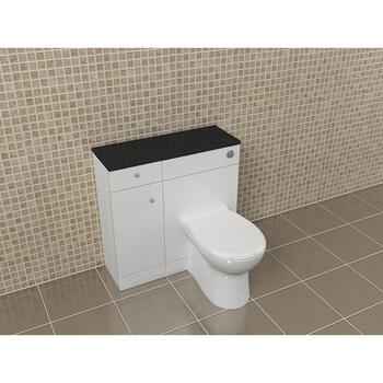 Yubo 805 White Top Amazing Value and Stylish Bathroom Accessory