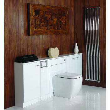 Spark 1400 Whitye Top Designer and Stylish Bathroom Accessory