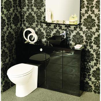 Spark 1810 Work Top Contemporary Bathroom