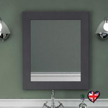 Insolito Carolla Bathroom Mirror (Charcoal Grey) - 15613