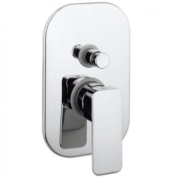 Atoll Manual Shower Valve With Diverter rectangle