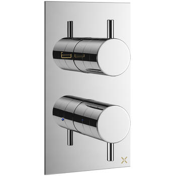 Mike Pro Thermostatic Shower Valve 1500 chrome rectangle
