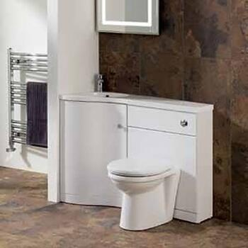oslo Max corner Unit Modern Bathroom Furniture Site