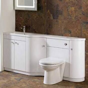 oslo corner combi Bathroom Furniture Unit 2 Ellegant
