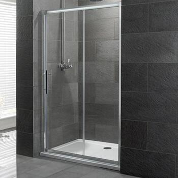 Volente Slider Silver Shower enclosure - 16948