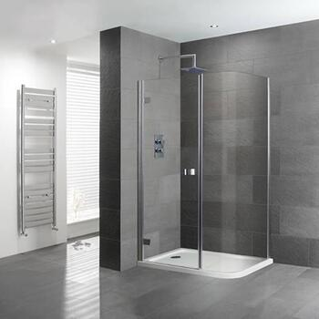 Volente 1200x800 Curved corner Shower enclosure - 16952