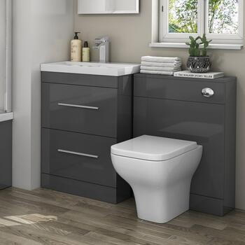 Patello 1200 Bathroom Furniture Set Grey - 174525